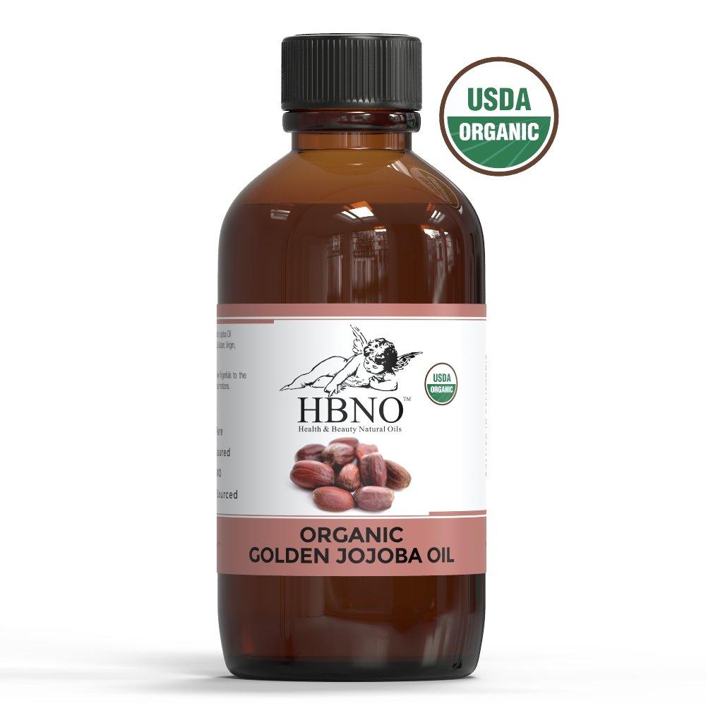HBNO 11200 Jojoba Oil, Golden, Organic, 120 ml