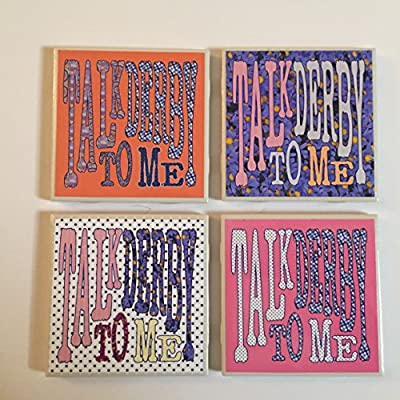 Talk Derby To Me Coaster Set
