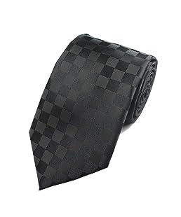 Taigood Cravatta Uomo 8 cm Seta Elegante Comprende Gemelli Fazzoletto Classic Cravatta Adatto per Matrimoni e Business