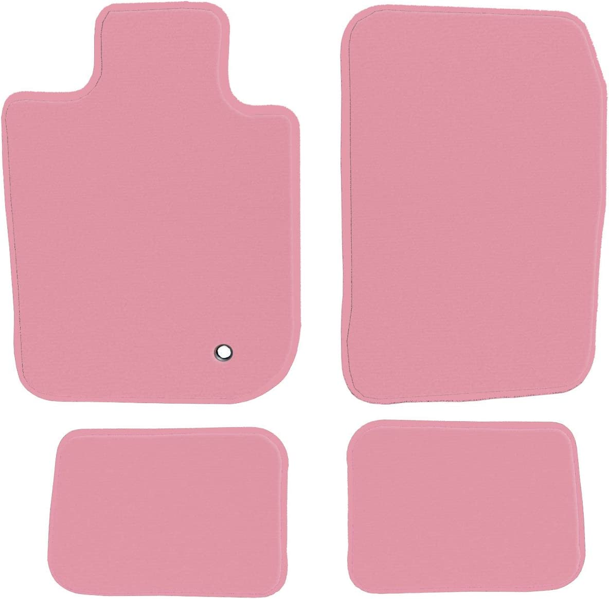 1995 GGBAILEY Ford Bronco 1993 1996 Pink Driver 1994 Passenger /& Rear Floor Mats