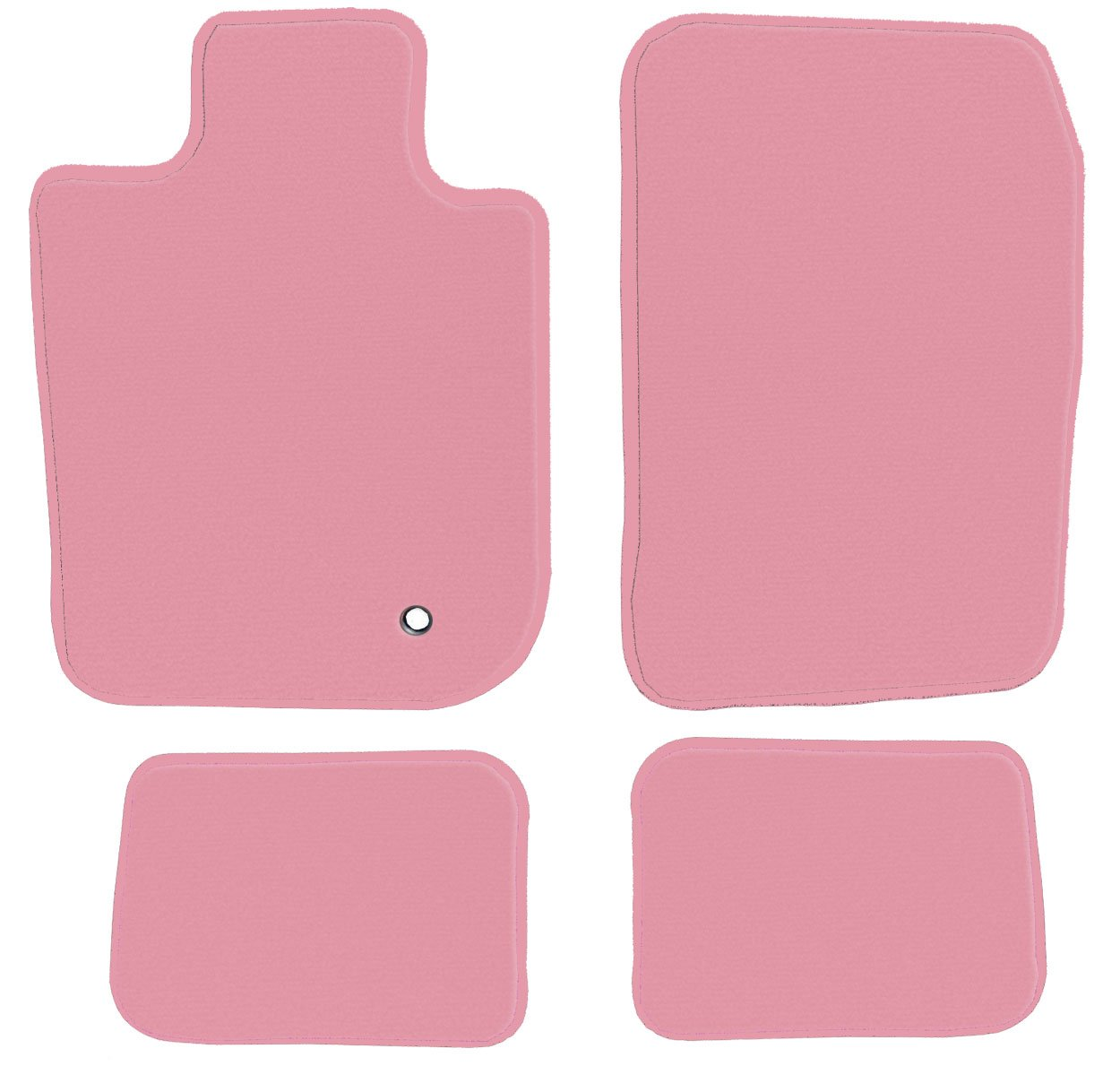1997 Passenger /& Rear GGBAILEY D4565A-S2B-PNK Custom Fit Automotive Carpet Floor Mats for 1996 1998 1999 2000 Plymouth Voyager Pink Driver