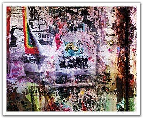 JP London Peel and Stick Removable Wall Decal Sticker Mural, Sneaker Pimp Graffiti Bill Post, 24 by - Sneaker Pimp