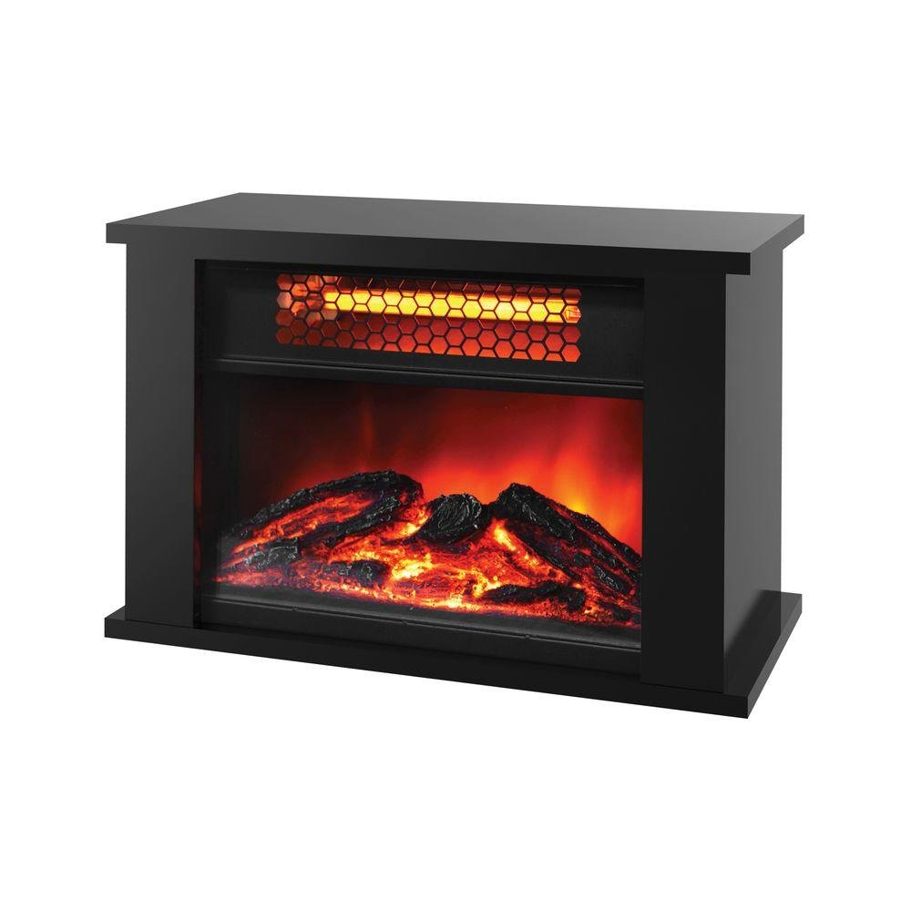 amazon com lifesmart products zcfp1014us 750w mini fireplace
