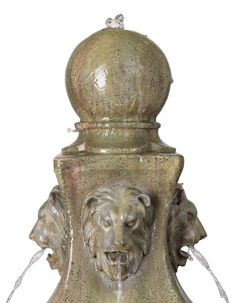 "Tuscan Garden Pedestal 54"" High Outdoor Fountain"