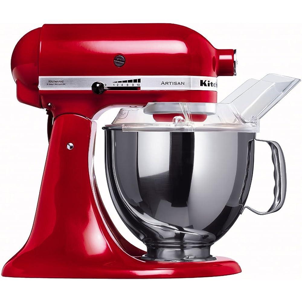 Die KitchenAid Küchenmaschine 5KSM150PSEER überzeugt durch ihren leistungsstarken Motor.