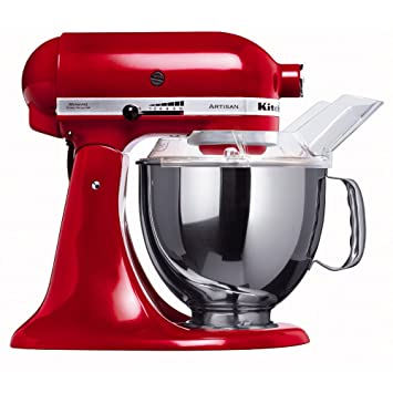 Amazon.de: KitchenAid Küchenmaschine Artisan rot 5KSM150PSEER