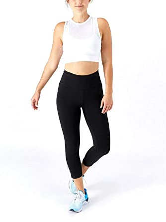 Nike Womens Sculpt Plus Size Power Crop Pants Black Size ...