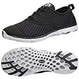 ALEADER Women's Stylish Quick Drying Water Shoes Black 7 D(M) US/EU 37.5