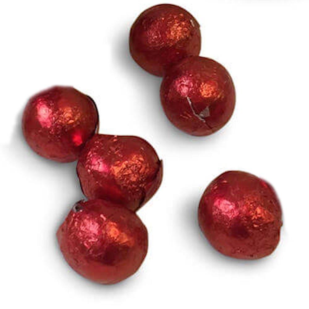 Forma de pirámide de bolas de chocolate rojo 100 pcs: Amazon.es: Juguetes y juegos