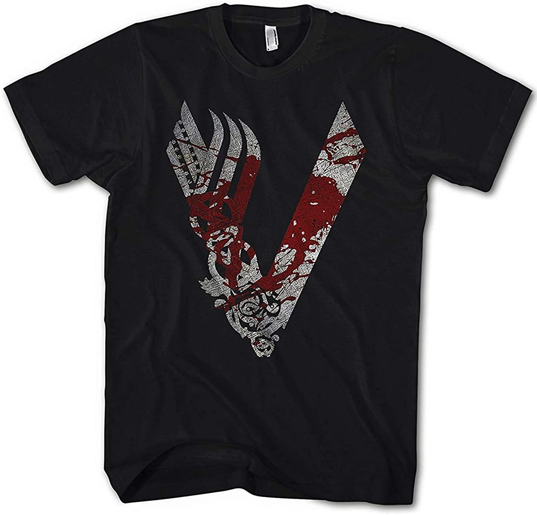Camiseta Hombre Vikingos King Ragnar Lodbrok Valhalla Ivar Odin: Amazon.es: Ropa y accesorios