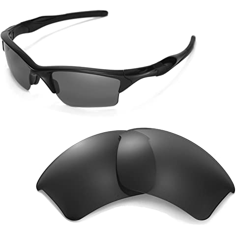 6f22b590f7 Walleva Replacement Lenses Or Lenses Rubber for Oakley Half Jacket 2.0 XL  Sunglasses - 53
