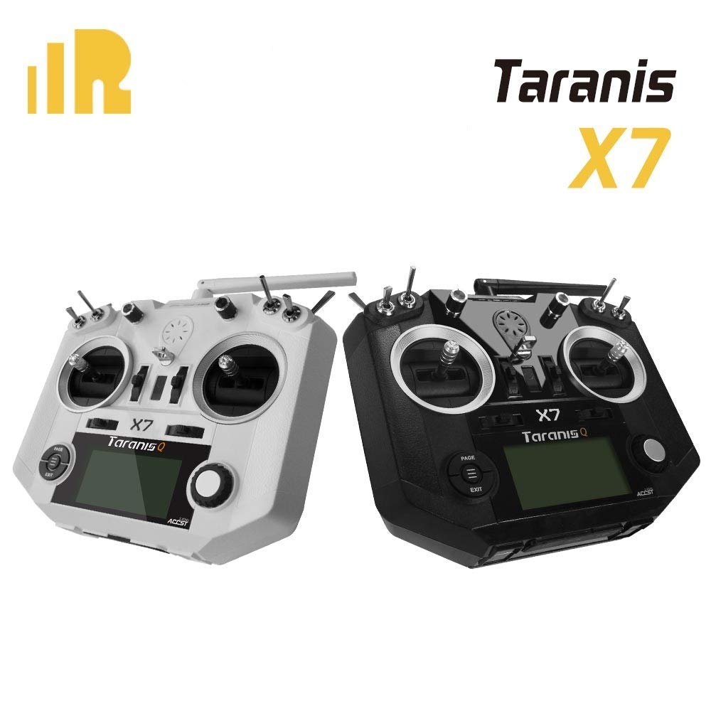 FrSky 2.4G Accst Taranis Q X7 16 Channels Transmitter Remote Controller Black for RC Drone