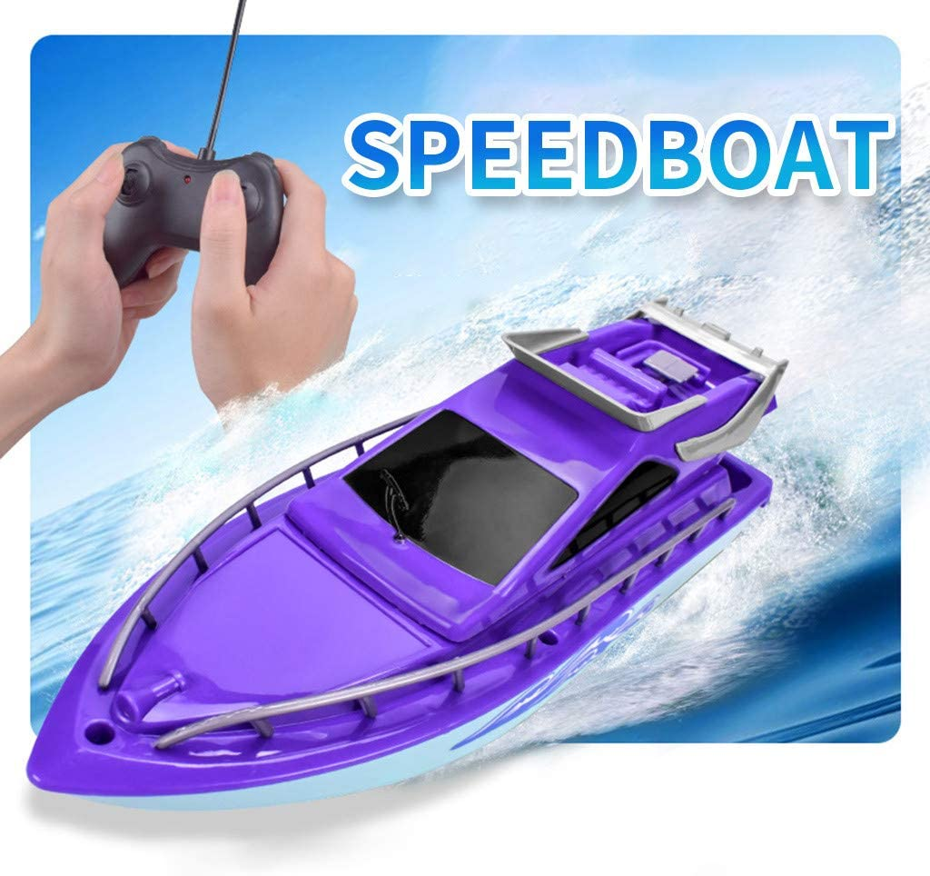 Twin Motor High Speed Boat Easy to Use Remote Control Ship Toys for Kids Toys and Hobbies HotSales Fineday Education Orange