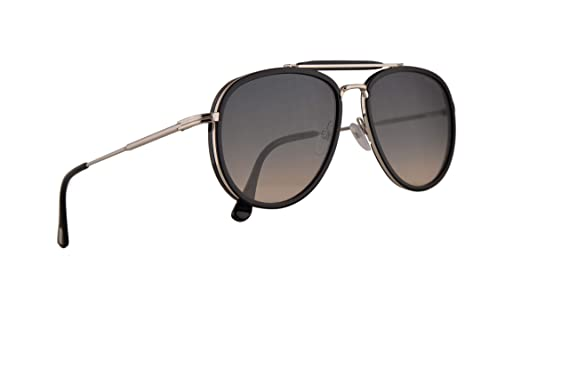 ff17258e15fd Image Unavailable. Image not available for. Color  Tom Ford FT0666 Tripp  Sunglasses Glossy Black ...