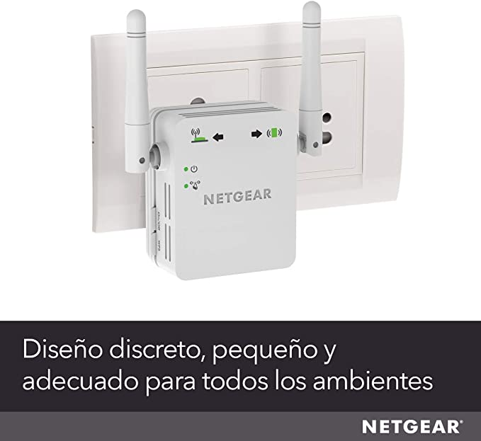 Netgear WN3000RP Repetidor WiFi N300, amplificador WiFi velocidad ...