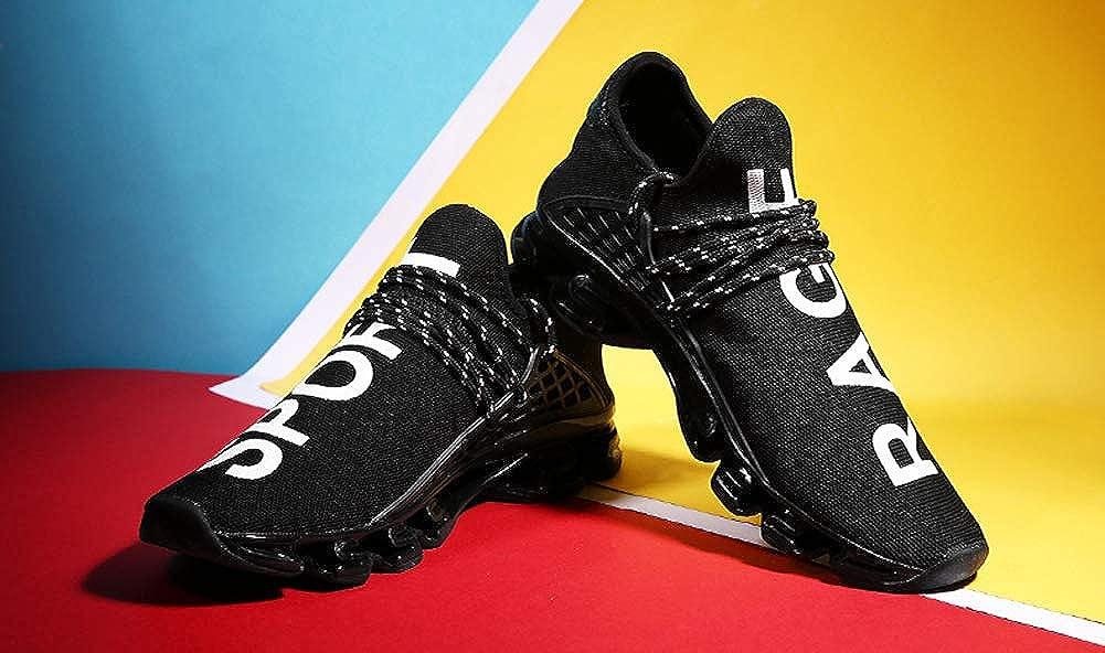 JIYE Mens Running Sports Shoes Free Transform Flyknit Fashion Casual Sneakers