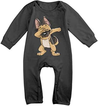 Mri-le1 Newborn Baby Jumpsuit Dabbing Horse Infant Long Sleeve Romper Jumpsuit