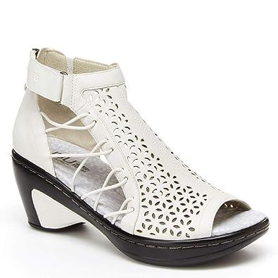 ba2499e65a82f JBU by Jambu Nelly Women's Sandal 9 B(M) US White