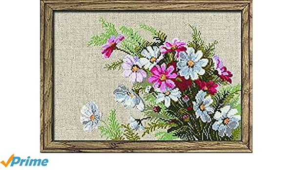 """15 Count RIOLIS Counted Cross Stitch Kit 8.25/""""X11.75/""""-Cosmom"""