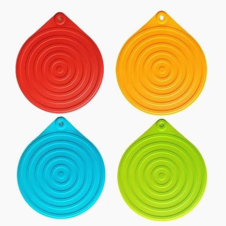 Salvamanteles, salvamanteles silicona, iNeibo, salvamanteles individuales, salva platos, protector mesa,