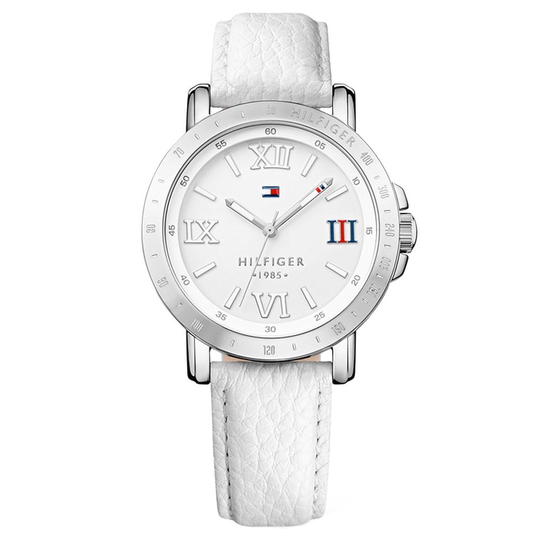 Tommy Hifiger – 1781440 – Liv Damen-Armbanduhr 045J699 Analog weiß Armband