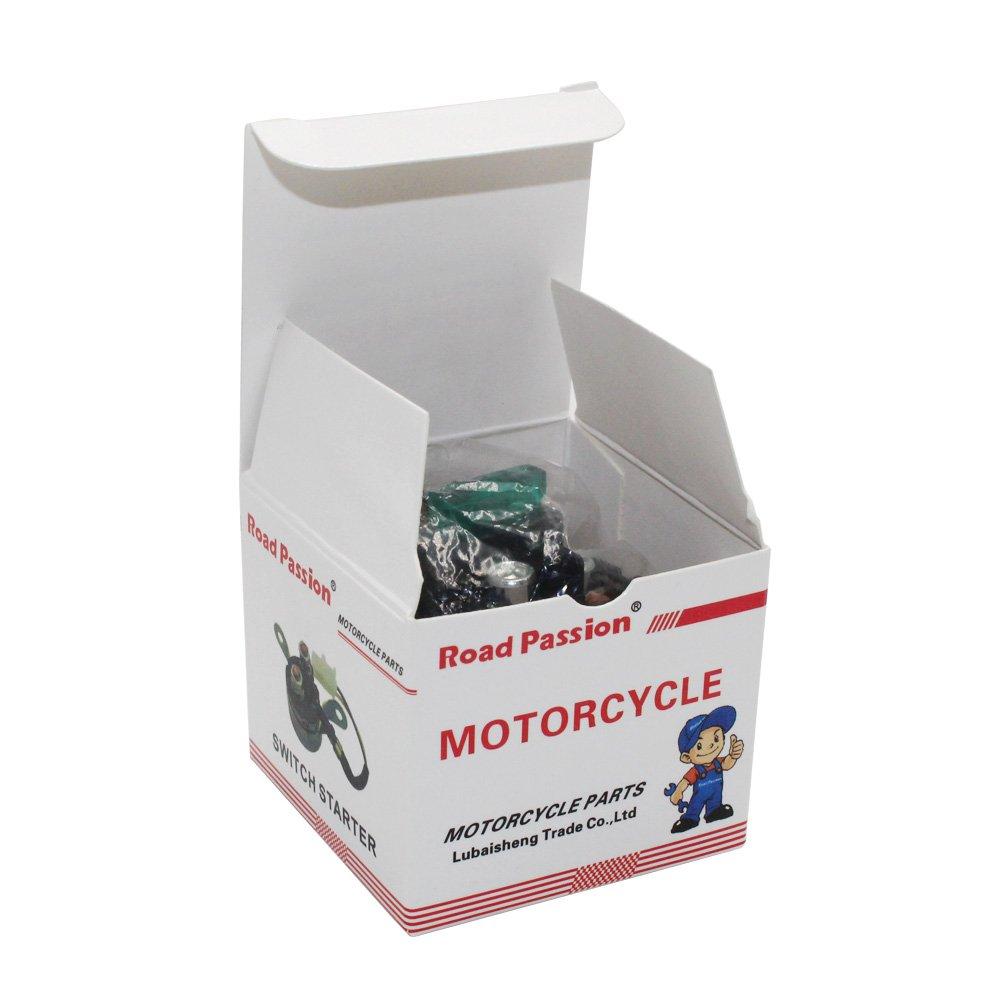 Motocicleta Arranque del Rel/é Solenoide para KAWASAKI KLX140 08-UP KSF450 KFX 2008-2014 KVF 650 a//b//d//e Prairie//Brute Force 2002-Up Road Passion