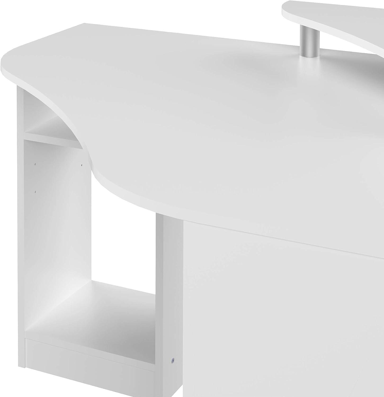 Bureau d'Angle Bois Blanc 94 x 81,8 x 94 cm, 1112A2100X00