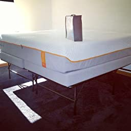 structures highrise lth 18 inch tall folding bed base high profile platform bed. Black Bedroom Furniture Sets. Home Design Ideas