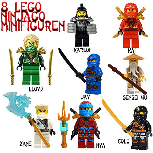 lego ninjago minifigur karlof lloyd jay kai sensei. Black Bedroom Furniture Sets. Home Design Ideas
