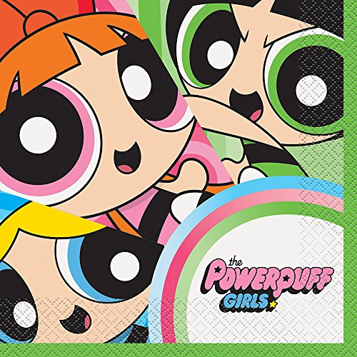 (Powerpuff Girls Party Napkins,)