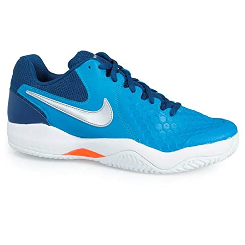 4d02444e18cad Nike Men s Air Zoom Resistance Neo Turq Silver Crimson Tennis Shoes-8 UK