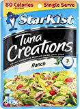 Starkist Tuna Creations, Ranch, Single Serve 2.6-Ounce Pouch (Pack of 5)