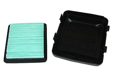 Amazon.com: Honda filtro de aire 17211-ZL8-023 y cubierta ...