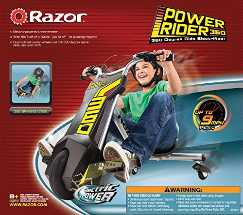 Razor Power Rider 360 Electric Tricycle by Razor (Image #12)