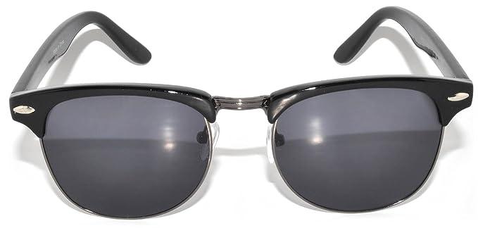 Amazon.com: anteojos de sol retro clásico marco de metal ...