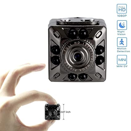 Amazon.com : Ouomm Mini Camera, Hidden Camera with Infrared Night Vision, Spy Camcorder with Motion Detection, Nanny Cam USB Rechargeable, Full HD 1080P ...