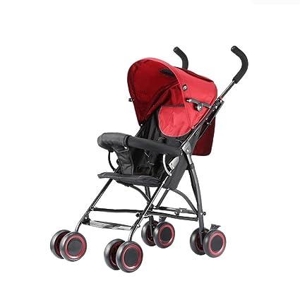 ZHAOJING Cochecitos de bebé paraguas puede sentarse ...