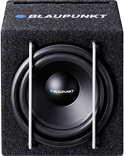 Black Blaupunkt BPGTB8200A 8-Inch 150 Watt Powered Subwoofer