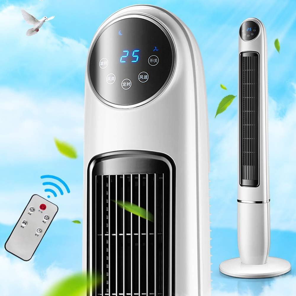 Alto viento suave vibración torre ventilador seguridad durable MUTE control remoto inteligente 0-12 horas tiempo enfriamiento torre ventilador 3 velocidad miniatura oscilante torre ventilador blanco
