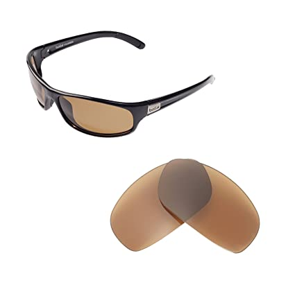dfae40db49a Walleva Replacement Lenses for Bolle Anaconda Sunglasses - Multiple Options  Available (Brown - Polarized)