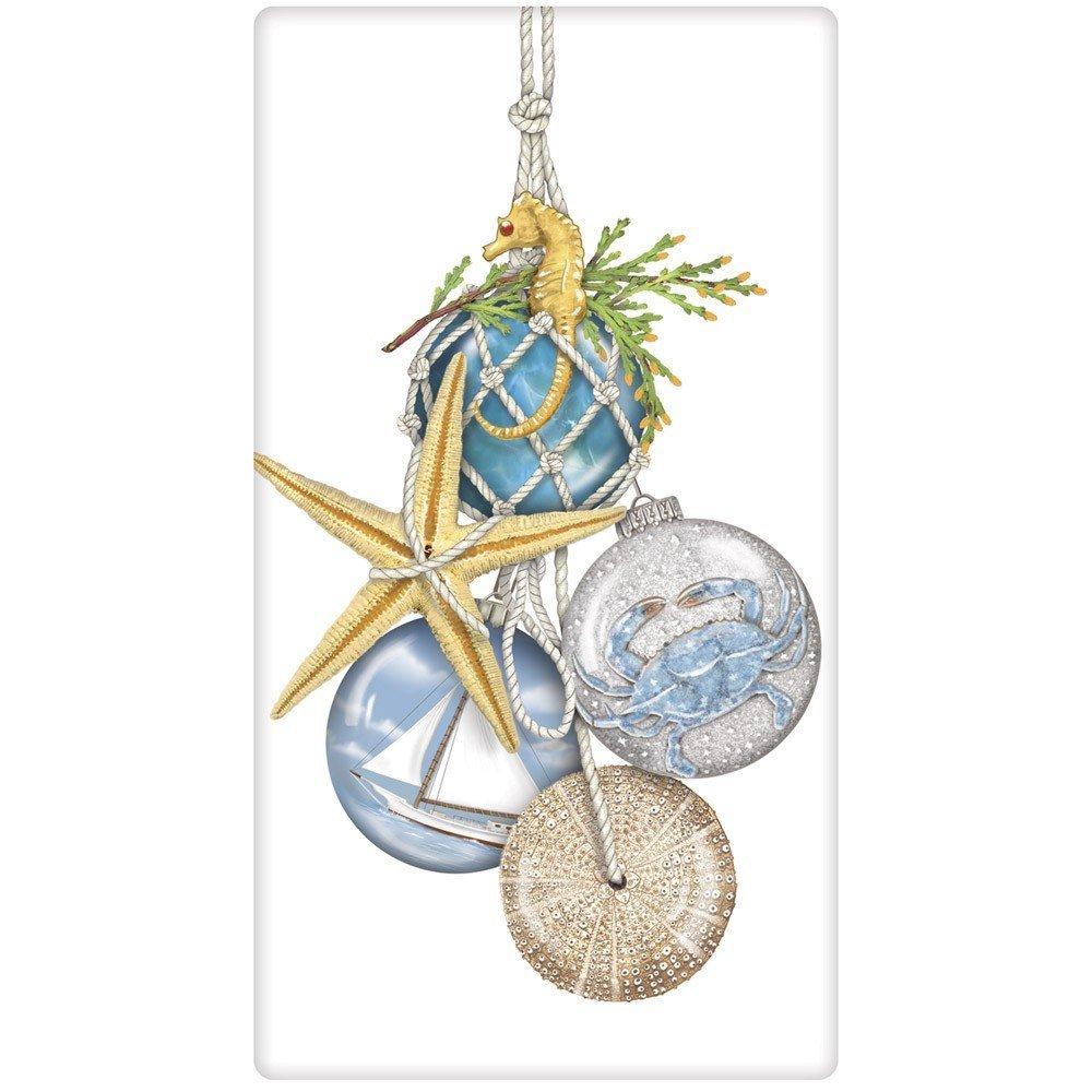 Mary Lake-Thompson Nautical Ornaments Casual Cotton Napkins Set of 4 NC115
