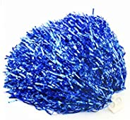 2PCS 30cm/11.8'' Cheerleading Cheerleader Ring Pom Poms Sports Party Accessories Dance Ball Party Spor