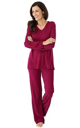 7d3963f44862 PamamaGram Cashmere Blend Women s Pajamas - 2-Piece PJ Set