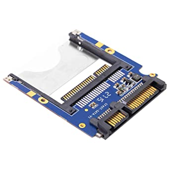 Cablecc CFast to SATA 22Pin Card Adapter Hard Disk Case SSD HDD ...