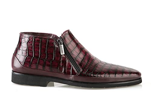 Good Man 6455 Bordo Leather Italian Designer Winter Men Boots f8b341fec