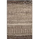 Safavieh Tunisia Collection TUN1711-KHV Brown Area Rug, 3 feet by 5 feet (3′ x 5′) For Sale