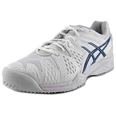 asics gel mens running shoes blue