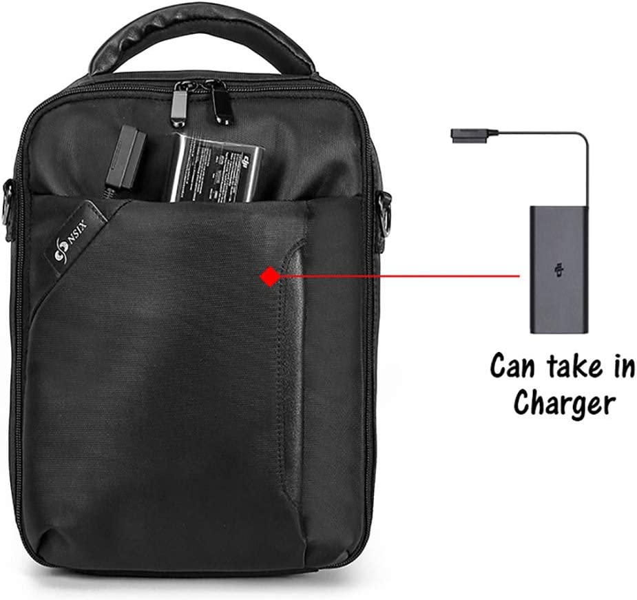 Color : Black Black for DJI Mavic Series Accessories Portable Single Shoulder Waterproof Storage Bag for DJI Mavic 2 Pro//Zoom