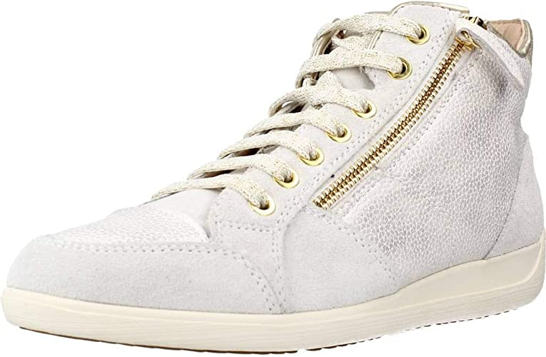 Gigante Regresa En  Geox Women's D Myria C Mid-top Sneakers: Amazon.co.uk: Shoes & Bags