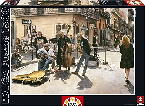 Educa Streets of New Orleans Puzzle (1500 Piece) (New Orleans Costume)